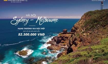 Khuyến mại đặc biệt hấp dẫn của Vietnam Airlines trên hành trình Việt Nam đến Úc